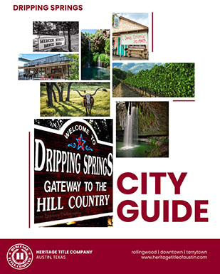 Dripping Springs City Guide